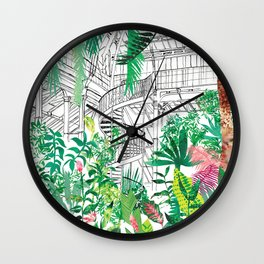 Palmhouse Wall Clock