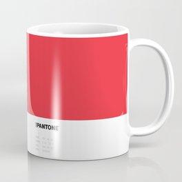 Not Pantone Collection #ED2E38 John Mayer Blushing Coffee Mug
