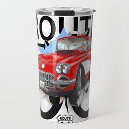 Route 66 USA Travel Mug