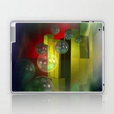 flying bubbles Laptop & iPad Skin