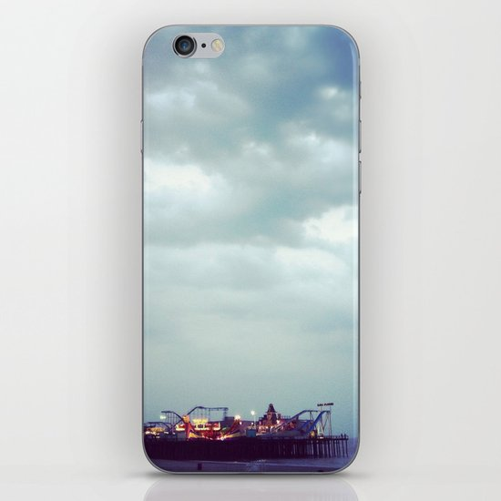 Casino Pier iPhone & iPod Skin