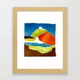 Greek islands 2 Framed Art Print