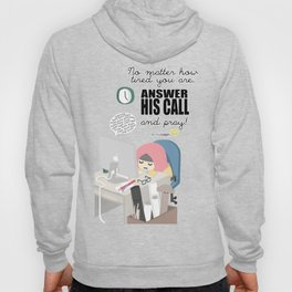 Answer His Call Hoody