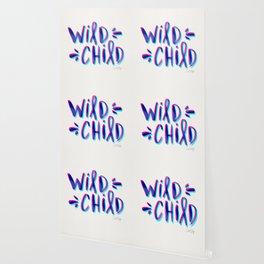 Wild Child – Magenta & Cyan Palette Wallpaper