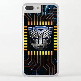 circuit autobot Clear iPhone Case