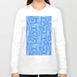 GeoPrint Pattern Long Sleeve T-shirt