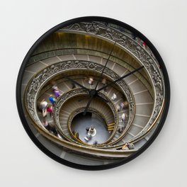 Vatican staircase Wall Clock