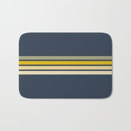 Racing Retro Stripes Bath Mat