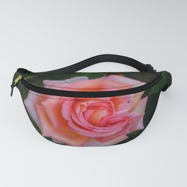 Pink Angular Rose Fanny Pack