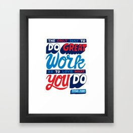 RIP Steve Jobs Framed Art Print