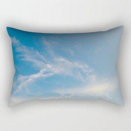 Hummingbird Cloud by Teresa Thompson Rectangular Pillow