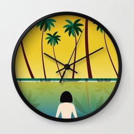 Ms. Summer Wall Clock