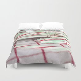 Candy Canes Duvet Cover
