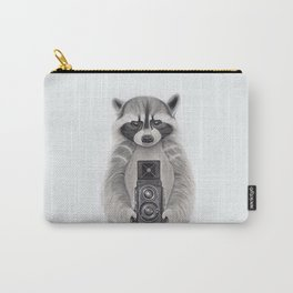 Raccoon Measuring Light / Mapache Midiendo la Luz Carry-All Pouch