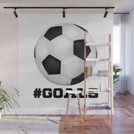 #Goals Wall Mural