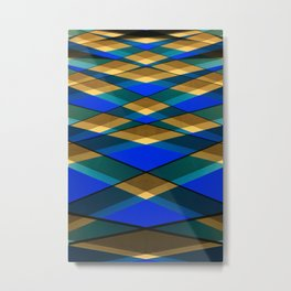 Geometrical architecture lines Metal Print