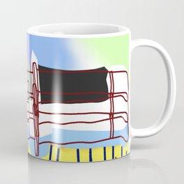 Knifed Coffee Mug