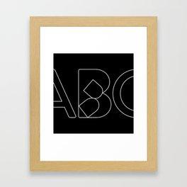 Collapsed Framed Art Print