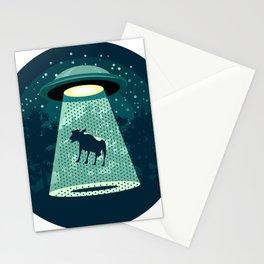 Beware UFO Stationery Cards