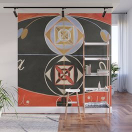 """Hilma af Klint """"Evolution, No. 16, Group VI"""" Wall Mural"""