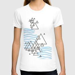Ocean Mountains Island T-shirt