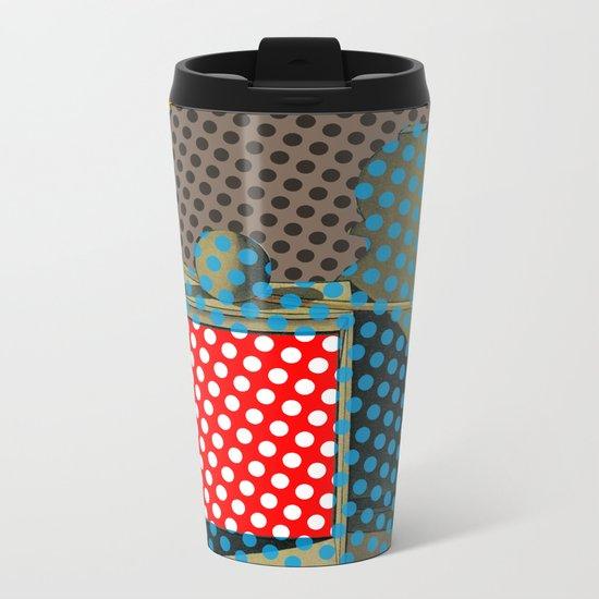Pop Morandi Metal Travel Mug