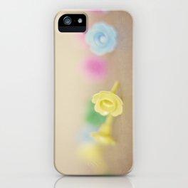 Plastic Flowers iPhone Case