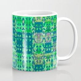 Green Modern African Geometric Coffee Mug