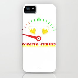 Necesito Cerveza Need Beer Spanish product iPhone Case