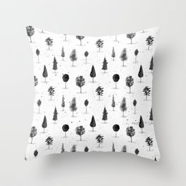 Eternal Forest Throw Pillow