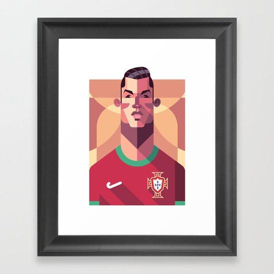CR7 | A Selecção Framed Art Print