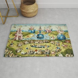 Heironymus Bosch - The Garden Of Earthly Delights Rug