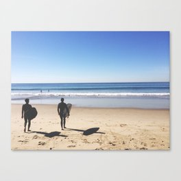 The Two Canvas Print