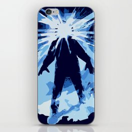 Man is the warmest place to hide ... iPhone Skin
