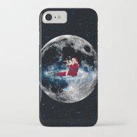 santa iPhone & iPod Cases featuring Santa by Cs025
