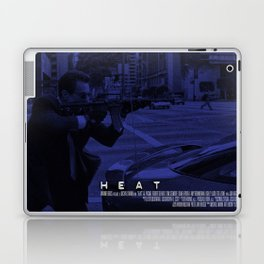 Movie Poster - Heat (De Niro) Laptop & iPad Skin