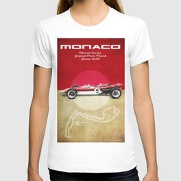 Monaco Racetrack Vintage T-shirt
