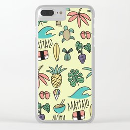 Local Kine Clear iPhone Case