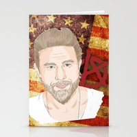 sons of anarchy Stationery Cards featuring Sons of anarchy by Jordan Coombes