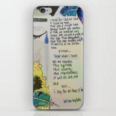 Porter Robinson - Fellow Feeling iPhone & iPod Skin