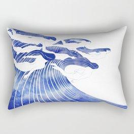 Seven Nereids Rectangular Pillow