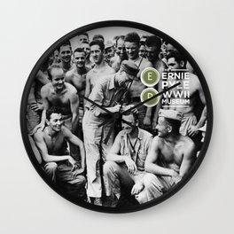 Ernie Pyle Museum Wall Clock