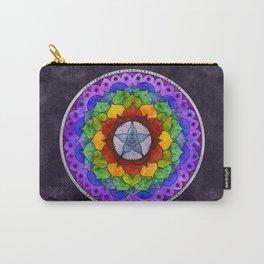 Star Mandala Rainbow Carry-All Pouch