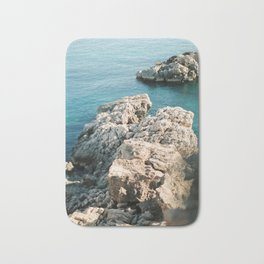 Ibiza Coastline - Balearics - Travel Photography Bath Mat