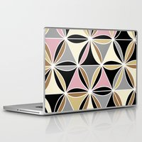 quilt Laptop & iPad Skins featuring quilt 2015 by Ariadne