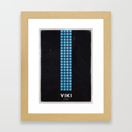 AI - VIKI Framed Art Print