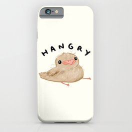 Hangry Chick iPhone Case