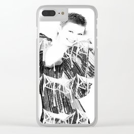 arts and crafts illustration Clear iPhone Case