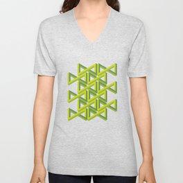 Illusion Unisex V-Neck