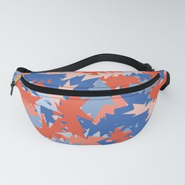 Memphis Style Abstract Geometric Texture Seamless Pattern Fanny Pack